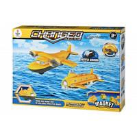 Магнітний конструктор Same Toy Літак (8803Ut)