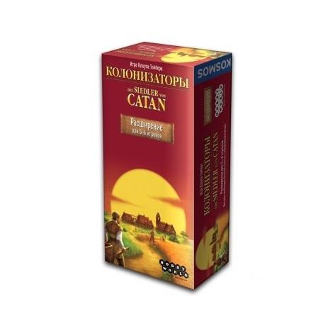 Настільна гра Hobby World Catan Колонізатори Розширення для 5-6 гравців (1101)
