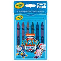 Набір Crayola Paw Patrol з восковими олівцями і розмальовками (04-0437)