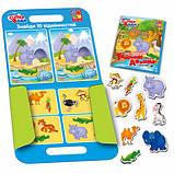 Гра з магнітами Vladi Toys Тварини Африки, укр. мова (VT3104-04), фото 2