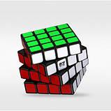 Головоломка Кубик Рубіка QiYi 4х4  MoFangGe QiYuan чорний пластик(6948154201611), фото 2