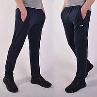 Размеры 46/48/50/52/54/56. Темно-синие мужские спортивные штаны ST-BRAND / Трикотаж двухнитка
