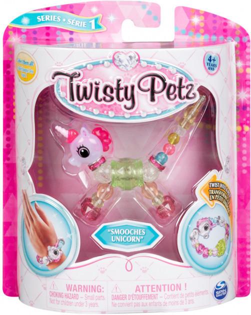 Игрушка-браслет для девочек Twisty Petz розовый единорог