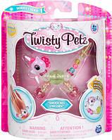 Игрушка-браслет для девочек Twisty Petz розовый единорог, фото 1