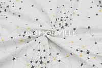Ранфорс 240 см Созвездия пунктир на белом, фото 1