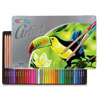 Олівці кольорові Artist Colorino 36 шт 36 кольорів (83270PTR)