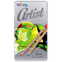 Олівці кольорові Artist Colorino 12 шт 12 кольорів (83256PTR)