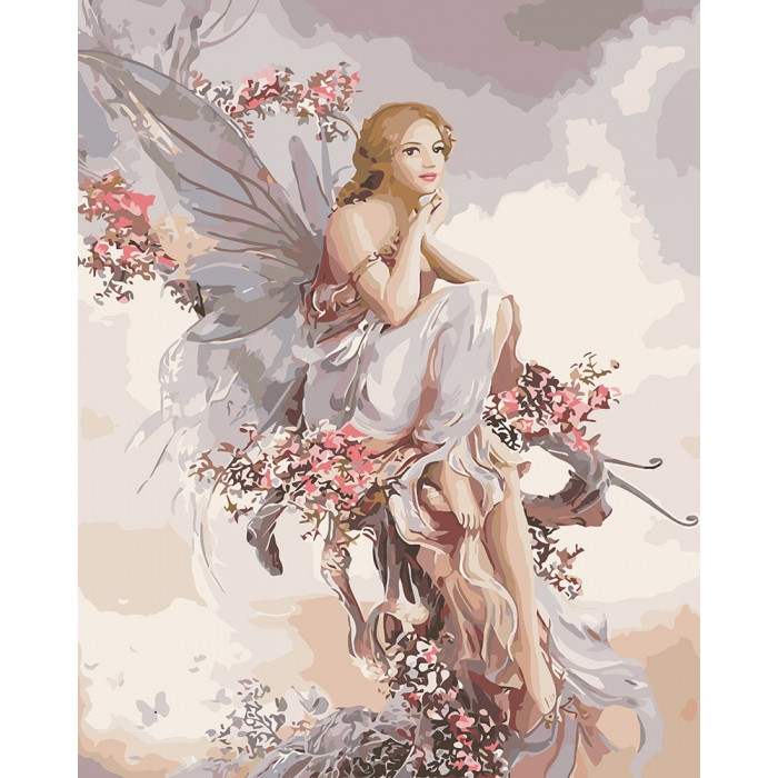 Картина по номерам Фея гармонии ТМ Идейка 40 х 50 см КНО4610