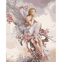 Картина по номерам Фея гармонии ТМ Идейка 40 х 50 см КНО4610, фото 1