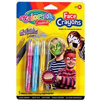 Олівці для дитячого гриму Colorino 5 кольорів (80054PTR)