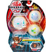Ігровий стартовий набір Bakugan Battle planet з трьох бакуганів  в асортименті (SM64424)