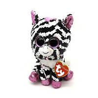 М'яка іграшка TY Flippables Зебра Zoey 15 см (36672)