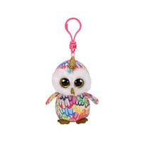 М'яка іграшка TY Beanie boo`s Різнокольорова сова Інчантед 12 см (35224)