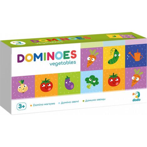 Настільна гра DoDo Доміно Овочі (300249)