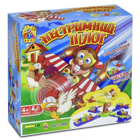 Настільна гра Fun Game Нестримний Пілот (7066)
