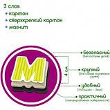 Набір магнітів Magdum Букви і Цифри (ML4031-09 EN), фото 4