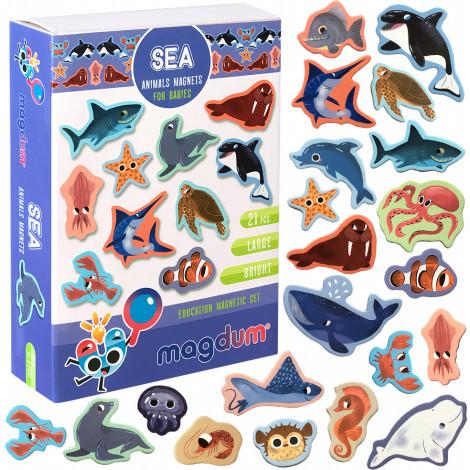 Набір магнітів Magdum Морські тварини (ML4031-07 EN)