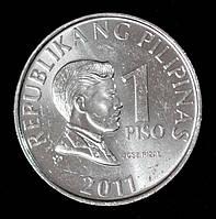 Монета Филиппин 1 песо 2011 г. Хосе Рисаль
