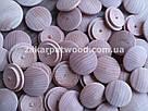 Заглушки дерев'яні 25мм (бук)_ 100шт, фото 5