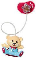 Детская Игровая Интерактивная Звуковая Соска с мишкой красная для куклы Беби Борн Baby Born Zapf Creation