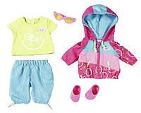 Детский Игровой Набор Одежды для велопрогулки для Куклы Бэби Борн 43 см 5 предметов Baby Born Zapf Creation