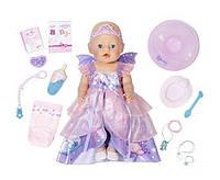 Детский Игровой Набор Интерактивная кукла Пупс Фея Беби Борн 43 см 10 предметов Baby Born Zapf Creation