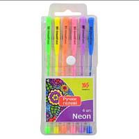 20-464 Набір гелевих ручок 6кольорів Neon YES № 411706