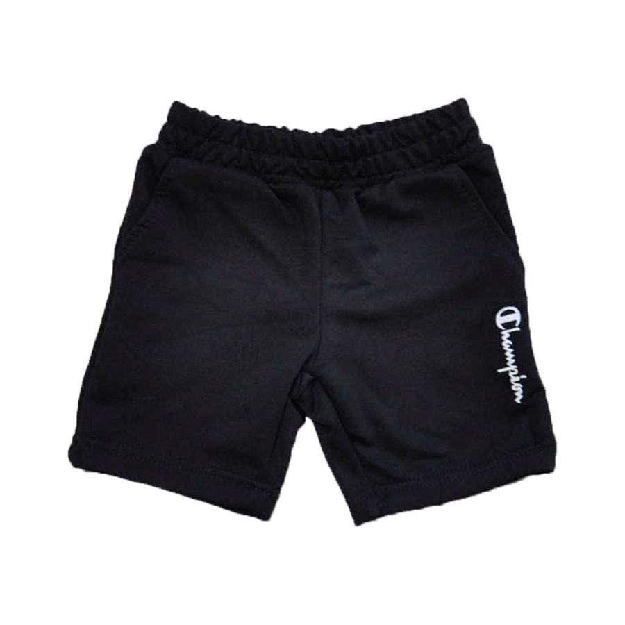 Шорты черного цвета с карманами для мальчика, Champion