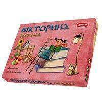Настольная игра логическая Викторина детская на украинском языке, ARTOS