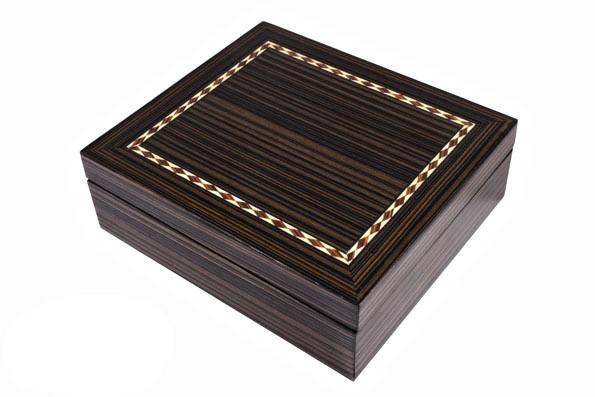 Карты игральные и домино Duke в деревянной шкатулке (DB22)