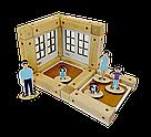 Деревянный конструктор Зевс Эко-домик на магнитах 38 деталей (ДД38), фото 3