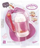 Детский Игровой Звуковой Набор для кормления куклы Бэби Аннабель розовый с овечкой Baby Annabell Zapf Creation