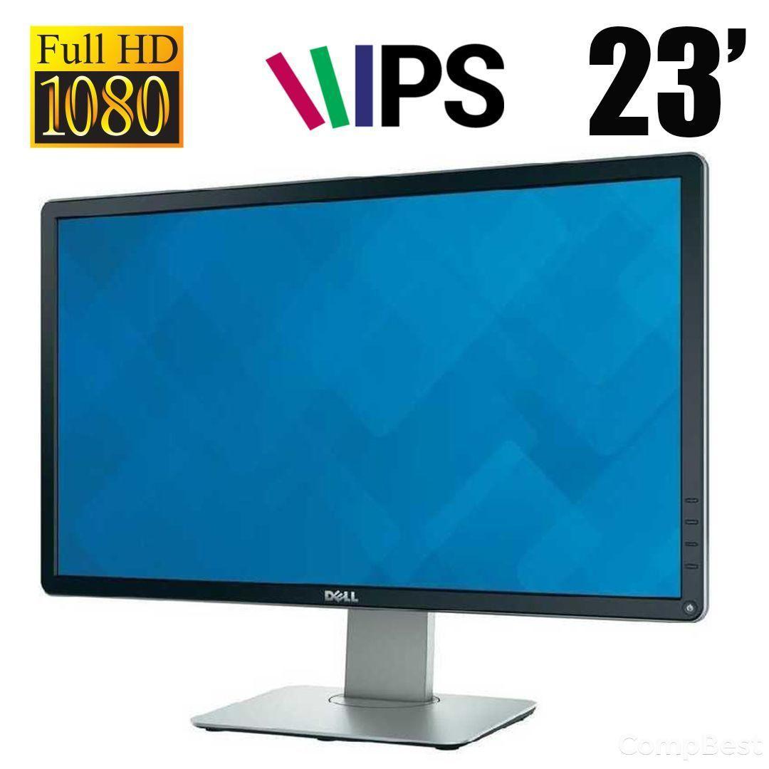 """Dell P2314HT / 23"""" / IPS / 1920x1080 (16:9) / DVI, VGA, DisplayPort, USB"""