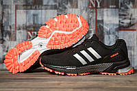 Кроссовки женские 16916, Adidas Marathon Tn, черные, < 36 37 38 39 > р. 36-22,7см., фото 1