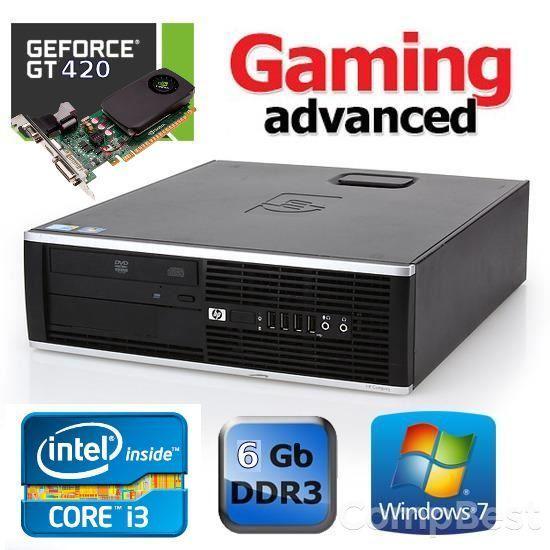 HP Compaq 8100 Elite SFF / Intel Core i3-540 (2(4) ядра по 3.06GHz) / 6GB DDR3 / 250GB HDD / GeForce GT 420 1GB + Windows