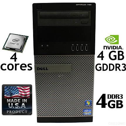 Игровой Dell 790 Tower / Intel i5-2500 (3.3GHz, 6MB Cache) / 4 GB RAM DDR3 / 250 GB HDD / GeForce GT 730 4 GB, фото 2