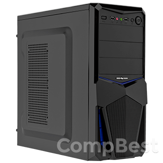 Игровой компьютер на AMD Ryzen 3 1200 / 8GB DDR4 / 1000GB HDD / GeForce GTX 1050 2GB GDDR5 / БП 400W / 12 мес. гарантия