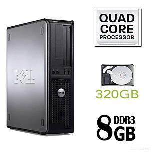 Dell 780 SFF / Intel Core 2 Quad Q8200 (4 ядра по 2.33GHz) / 8GB DDR3 / 320GB HDD / без привода, фото 2