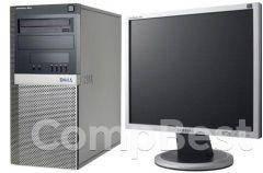 """Dell 390 Tower / Intel Core i3-2100 (2(4) ядра по 3.1GHz) / 4GB DDR3 / 320GB HDD  + наклейка Windows 7 + монитор / 19"""" /, фото 2"""