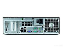 Fujitsu E5731 SFF / Intel C2Q Q6600 (4 ядра по 2.4GHZ) / 4GB DDR3 / 250GB HDD / Radeon HD 7570 1GB GDDR5 128bit + монитор LG Flatron W2242TE-DF / 22', фото 3