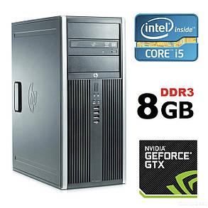 HP Compaq 8100 Elite MT / Intel® Core™ i5-650 (2 (4) ядра по 3.20 - 3.46 GHz)  / 8 Gb DDR 3 / 500 GB HDD / nVidia Geforсe GTX550 Ti (1 GB 192bit, фото 2