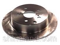 Гальмівний диск задній TOYOTA AVENSIS 2.2 D 07.05-11.08 ABE C42072ABE