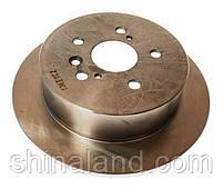 Тормозной диск задний TOYOTA AVENSIS VERSO, PREVIA, SIENNA 2.0-3.5 08.00-12.10 ABE C42020ABE