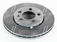 Гальмівний диск AUDI A3, SEAT CORDOBA, IBIZA, SKODA,VW передній вентильований (REMSA) OE 1J0615301D