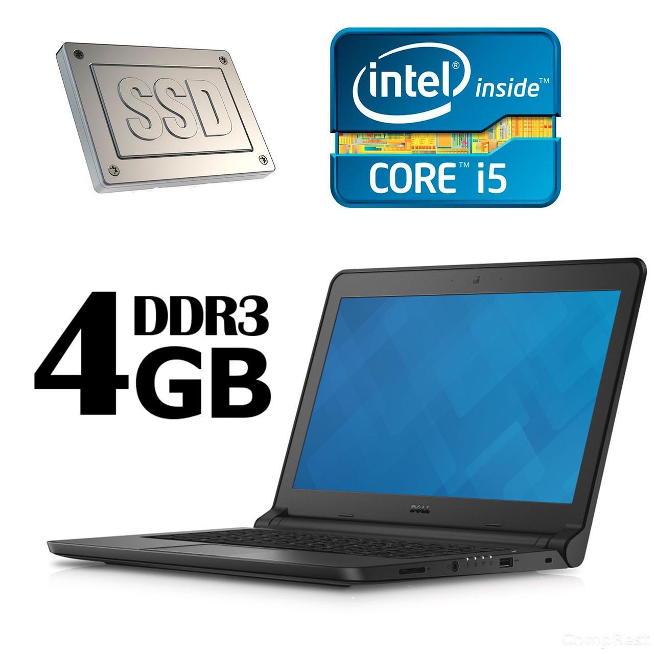 Dell Latitude 3340 / 13.3' / Intel Core i5-4200U ( 2(4) ядра по 1.6GHz ) / 4 GB DDR3 / 128 GB SSD / Intel HD 4400