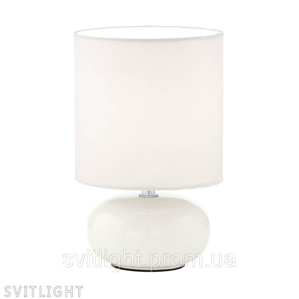 Белая настольная лампа 93046 Eglo