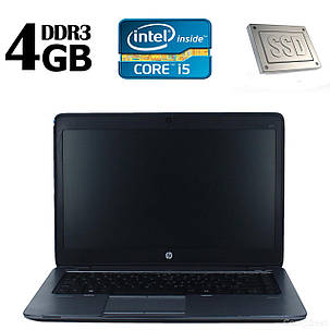 HP 840G1 / 14' /  Intel Core I5-4210U (2(4) ядра по 1.7-2.7GHz) / 4GB DDR3 / 120GB SSD / Windows 8.1 Pro license, фото 2