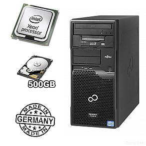 Сервер FUJITSU PRIMERGY TX100 S3p Tower Server / Intel® Xeon® E3-1220 (4 ядра по 3,1 - 3,4 GHz) / 8 GB DDR3 / 500 GB HDD, фото 2