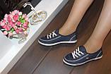 Кеды женские джинсовые Т342, фото 4