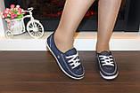Кеды женские джинсовые Т342, фото 5